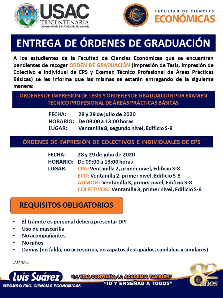 AVISO ENTREGA DE ORDENES DE GRADUACI_N